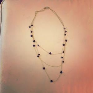 Kate Spade 3 Strand Necklace